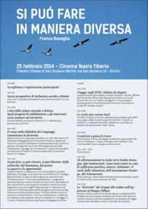 Convegno Rimini 25 Febbraio 2014