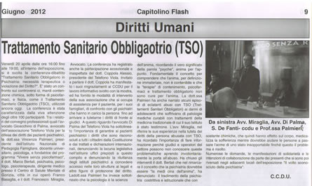 Capitolino Flash Giugno 2012